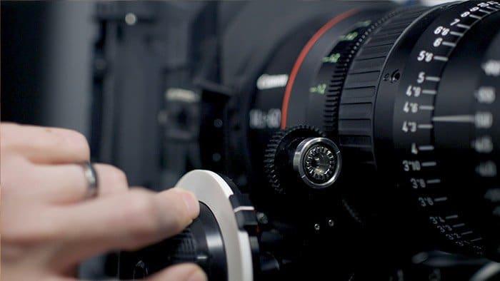 Camera focus - macro photography