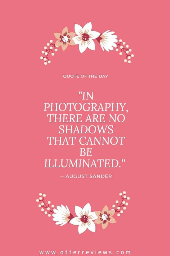August Sander quote