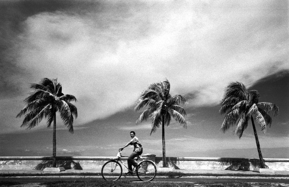 Charlie Waite - Man on a bike