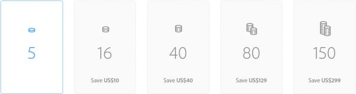 Adobe Stock review - Credit packs pricing