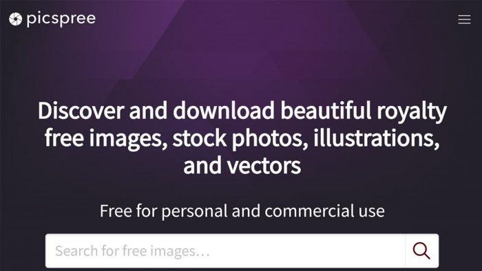 PicSpree interface
