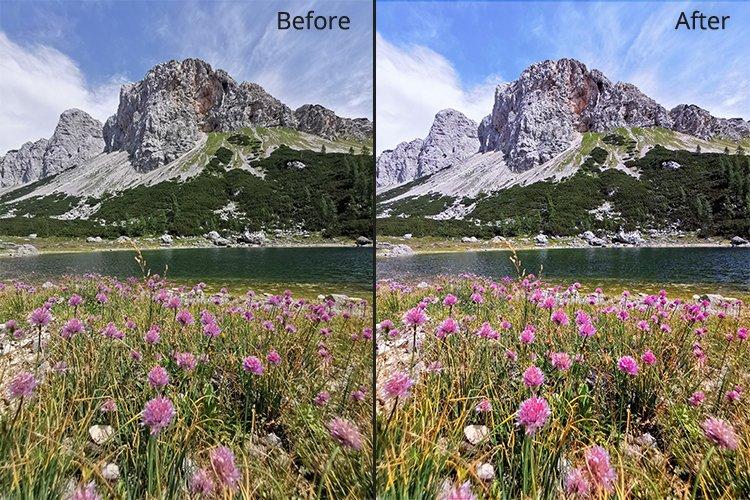 AI Photo Retoucher 2 - comparison