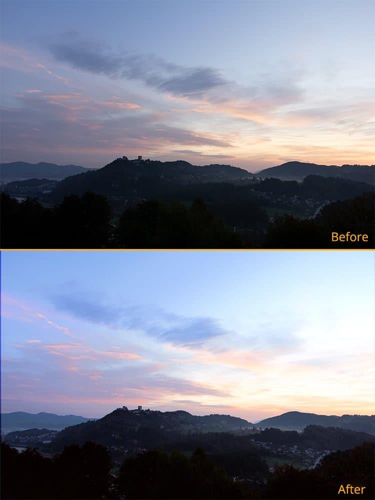 AI Photo Retoucher 3 - comparison