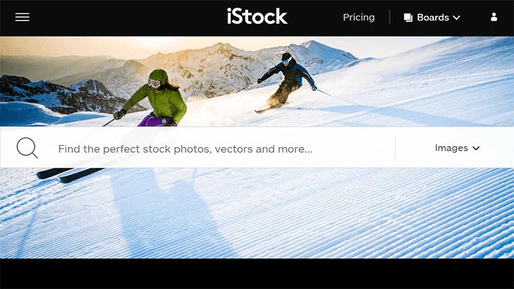 iStock Interface