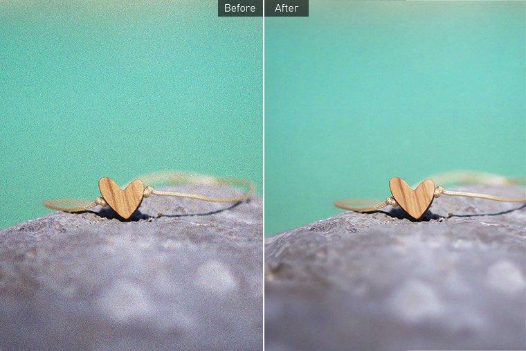 Image Enhancer Test 3 - Noise 25% Uniform - Before and After