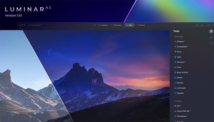Luminar AI 1.0.1 cover
