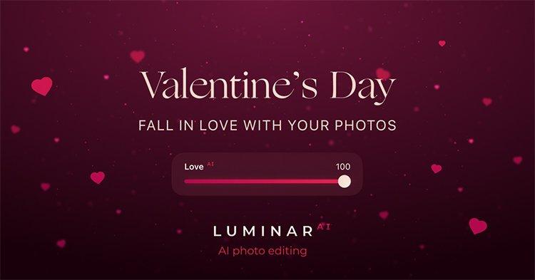 Luminar AI Valentines sale