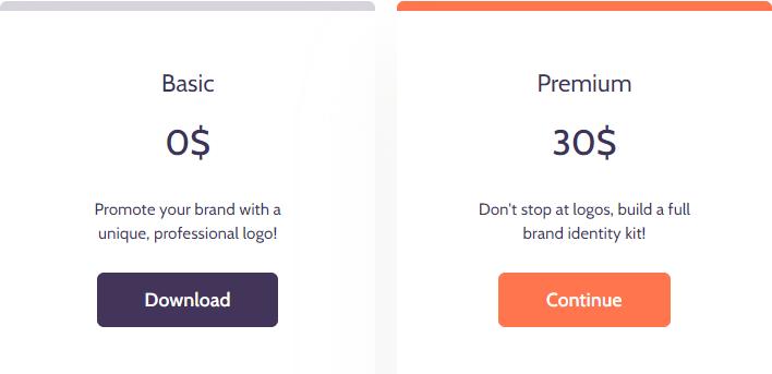 Designs.ai logo maker download price