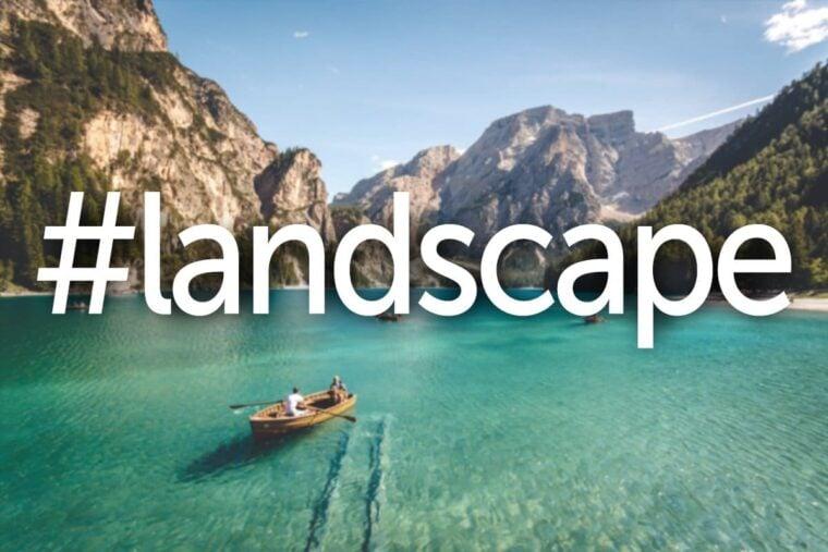 Landscape photography hashtags thumbnail