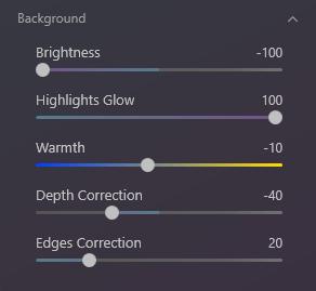 Bokeh AI example settings