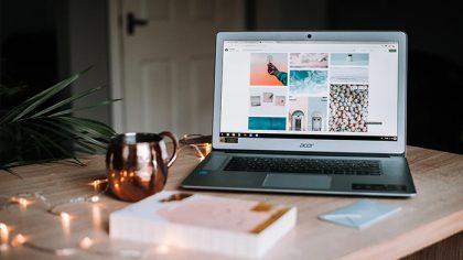 Create a photography website thumbnail